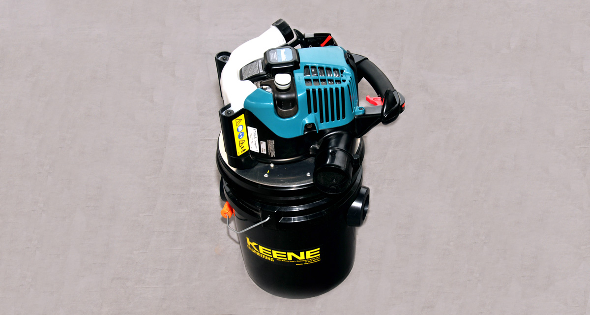 Evaluating the Keene Engine Driven Shop Vac