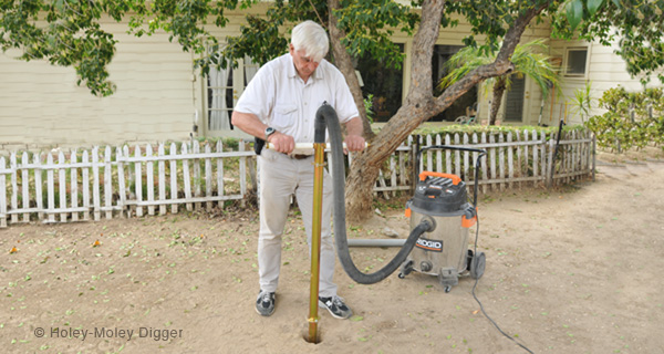 Super Fast Fence Post Hole Digger