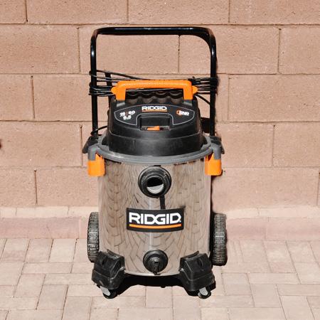 Ridgid Shop Vacuum WD19560 Comparison Test