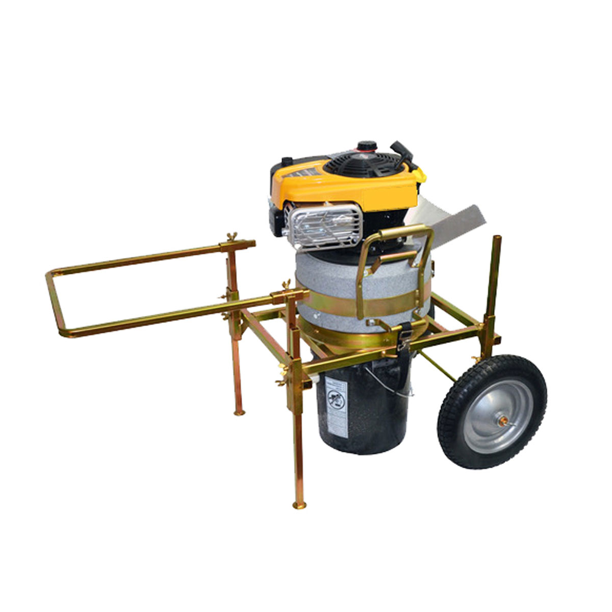 RC-1 Quality Portable Gravel Rock Crusher with Cart